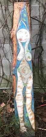 Birch Tree Goddess by Jyne Greenly