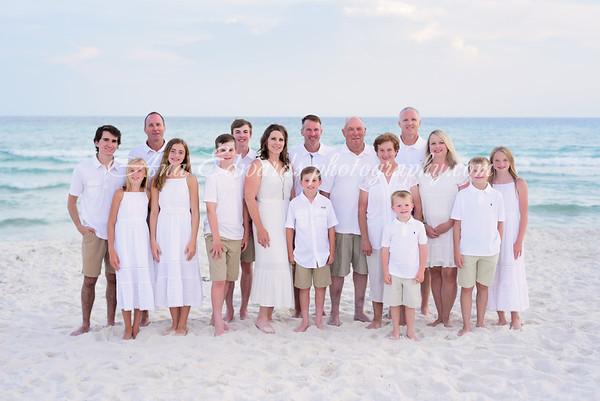 The Dykes family  |  Panama City Beach