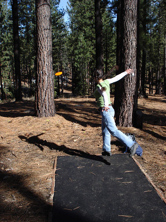 Disc Golf - Sierra College, Truckee 11-17-2010