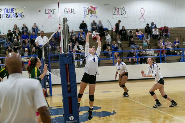 Rockdale Varsity Volleyball v Academy 2018 Third Period