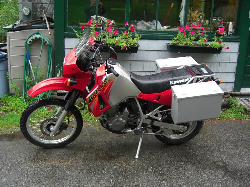The New 2006 KLR650, aug, 10, 2006.CIMG2409.JPG