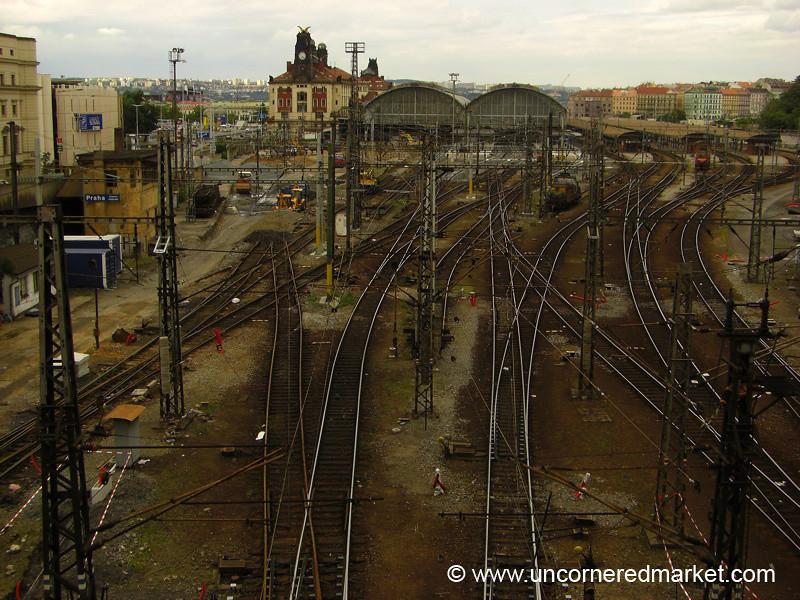 Prague's Main Train Station - Prague, Czech Republic