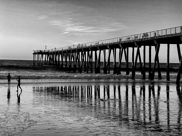 Hermosa Beach Sunset Photowalk 12/14/2020