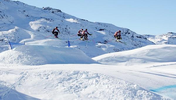 Dec 7, 2016 - Val Thorens Audi FIS Ski Cross Alps Tour training day 2