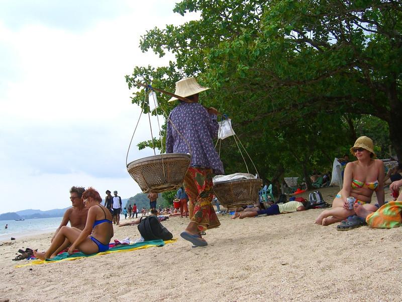 Beachgoers - Ao Nang, Thailand