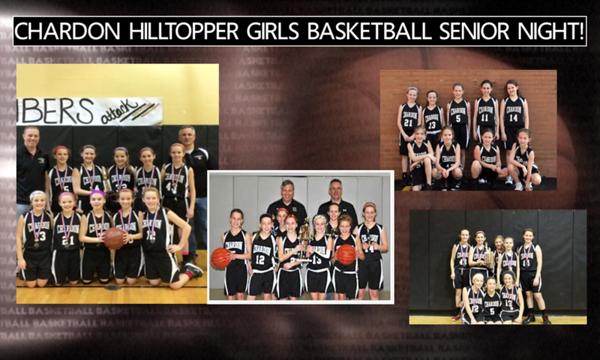 '20 Chardon Girls Basketball Senior Night