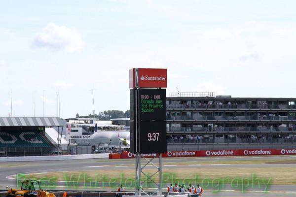 Silverstone Saturday free and Quali