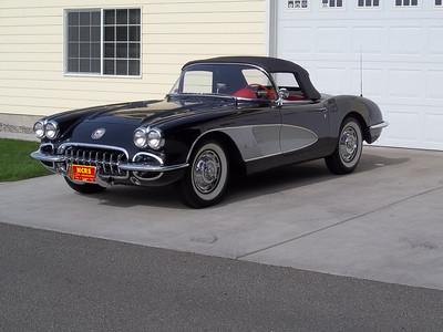 1959 Corvette, Duntov, Bloomington Gold, Chevy Vette Fest.  Triple Crown -SOLD