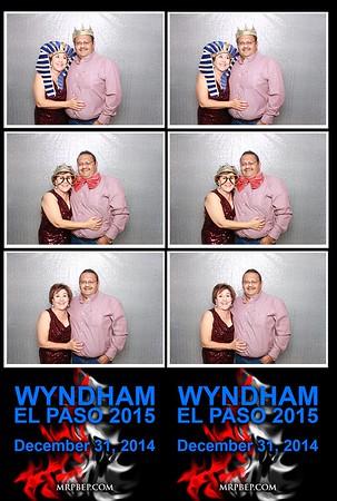 Wyndham El Paso   Dec. 31st 2014