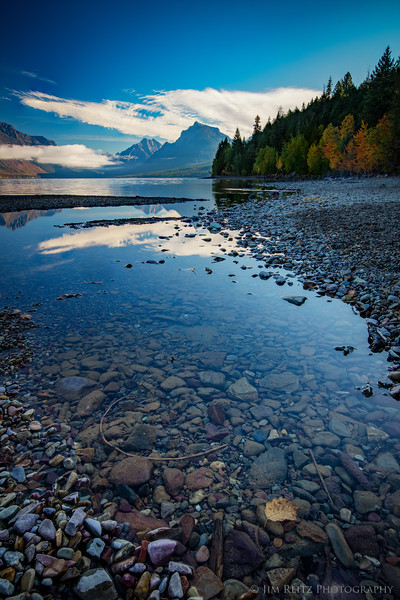 Early morning reflections - Lake McDonald, Glacier National Park