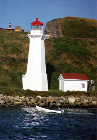 Georges Island Light, Nova Scotia
