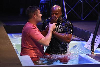 2017-04-29 - 5 p.m. Baptism Service