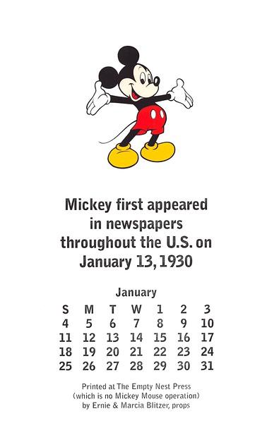 January, 2009, The Empty Nest Press