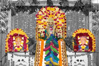 Ayyappa Pushpabhishekam at Satyanarayana Swamy temple