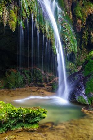 Hérisson & Tufs waterfalls