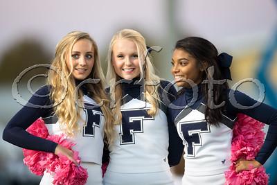 FHS V. vs. HVA (10-26-17) Cheerleaders