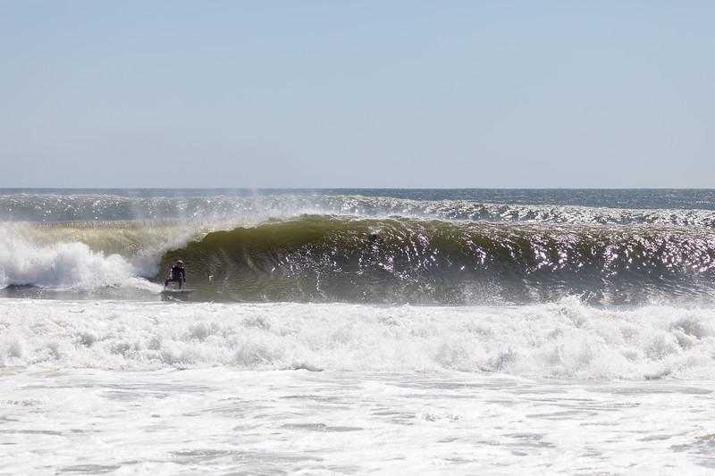 Surfing New York Hurricane Dorian
