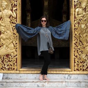 Travellers in Luang Prabang