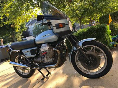 '80 Moto Guzzi 1000 SP