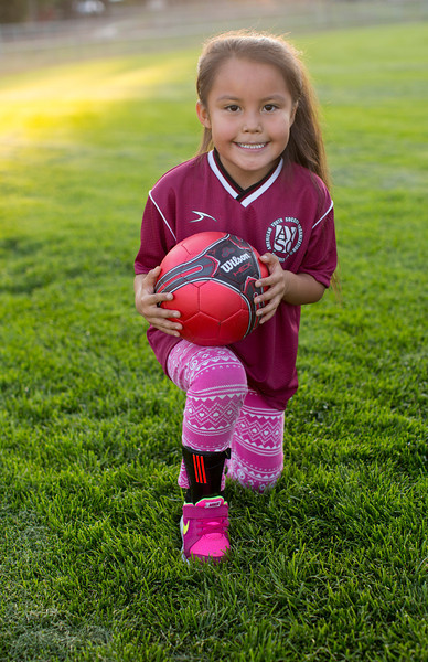 Mylie's Soccer Team