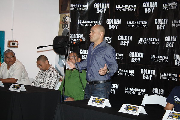 Jesse James Leija Press Conference