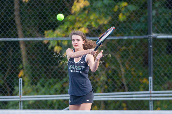 Fall 2019:  Girls Varsity Tennis vs. Stone Ridge