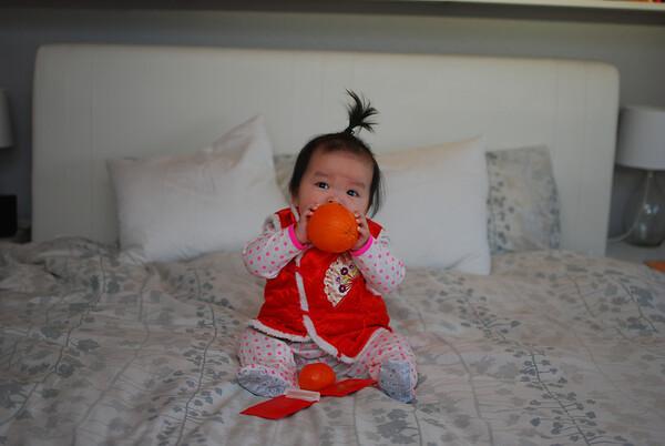 Olivia Violet  Month 9