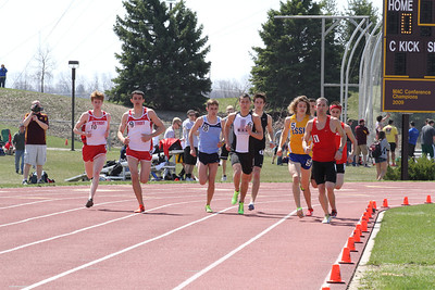 Men's 1500 Meters - 2013 CMU Lyle Bennett Open