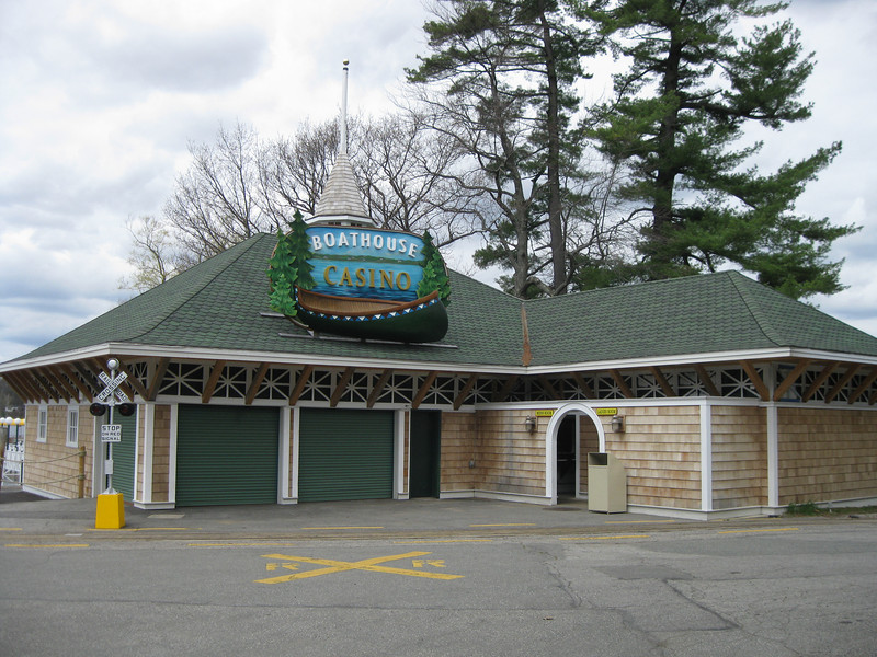 Boathouse Casino building.