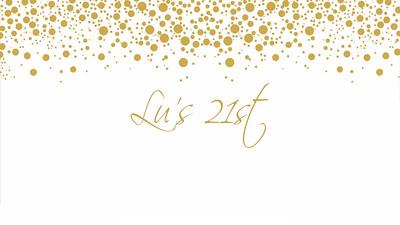 03.04 Lu's 21st