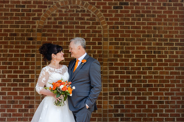 Deb & Mike | Intimate Spring Wedding in Greensboro, NC