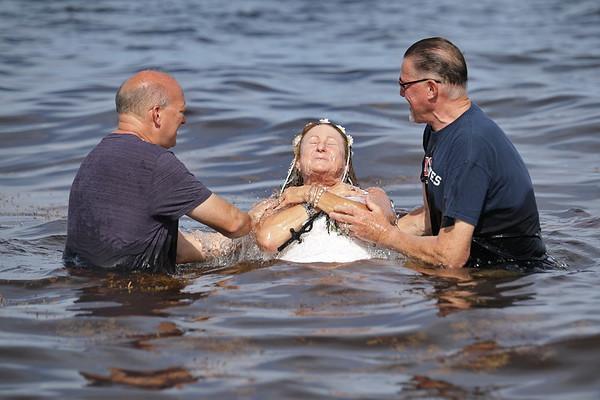 Sandy Doherty's Baptism
