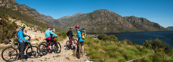 Franschhoek eBike Mountain Biking Ride Photographs.