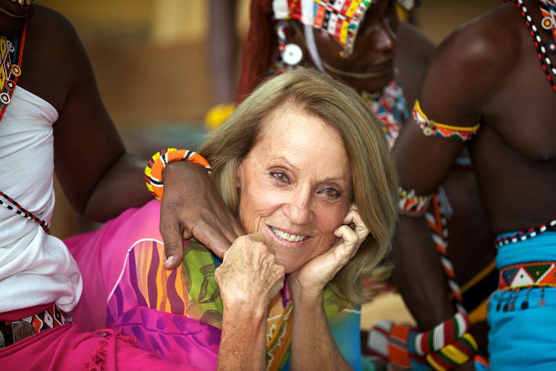 Oria Douglas-Hamilton, Samburu, Kenya