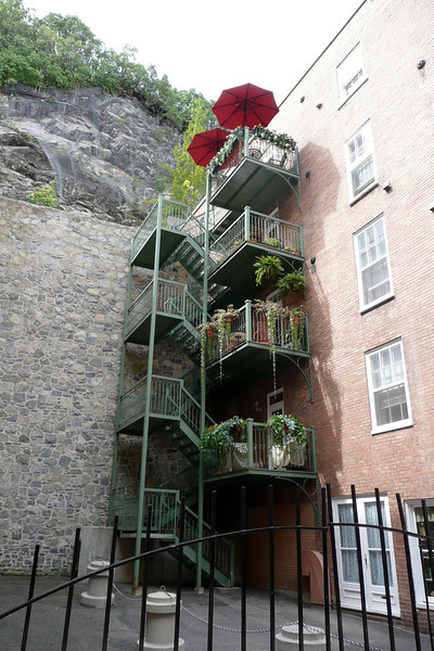 Stairs. Quebec City