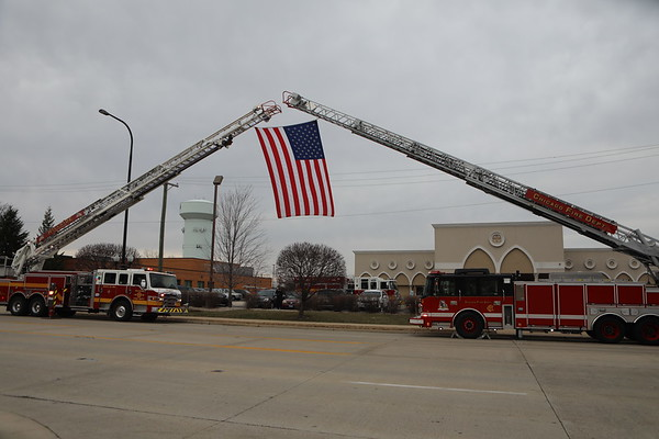 Chicago Fire Department Paramedic Robert Truevillian Ambulance 71 Funeral