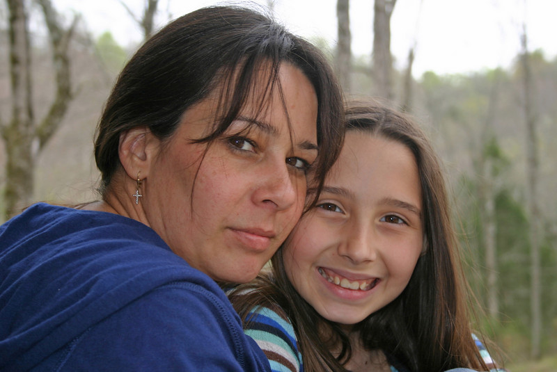 My friend Robin and her daughter.