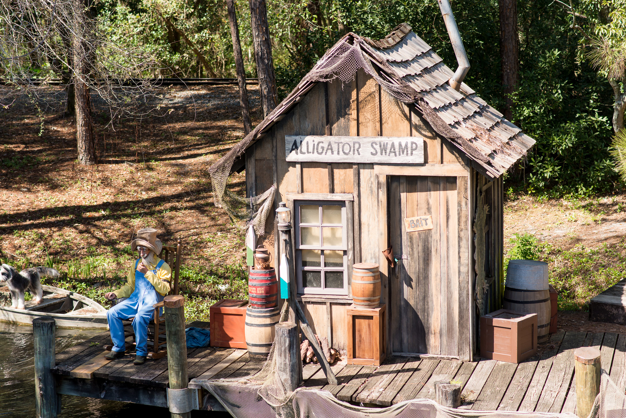 Alligator Swamp - Walt Disney World Magic Kingdom