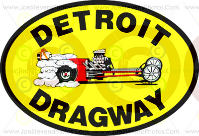 Detroit Dragway Stickers