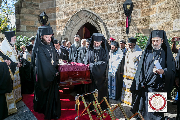 Funeral Service of Archbishop Stylianos of Blessed Memory 2019