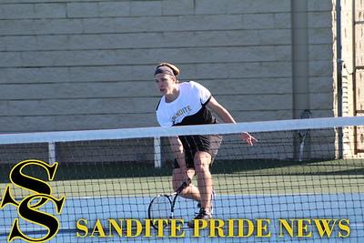 3/2/17 Sand Springs Tennis vs Claremore