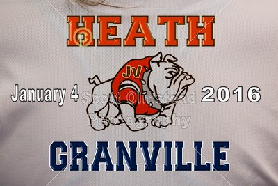 2016 Heath at Granville (01-04-16) Junior Varsity