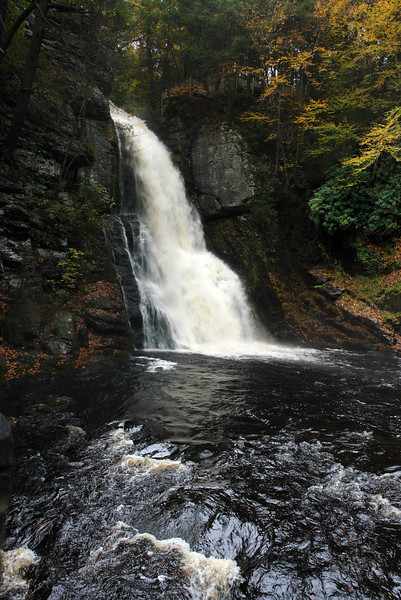 Bushkill Falls. The Niagara of Pennsylvania
