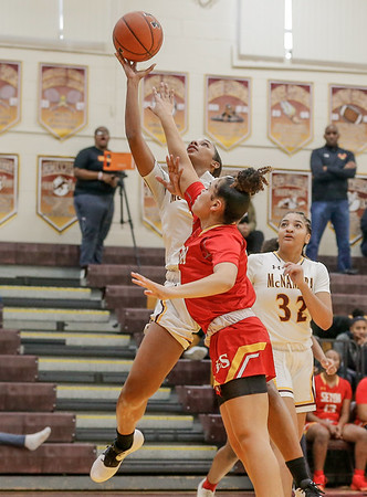 Girls High School Basketball: Seton at Bishop McNamara