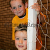 Lee McKeown and Jamie Lynch pictured at the Newry and Mourne leisure services summer camp 2006. 06W31N18