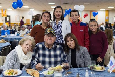 Veterans Day Tribute Dinner –November 9, 2018