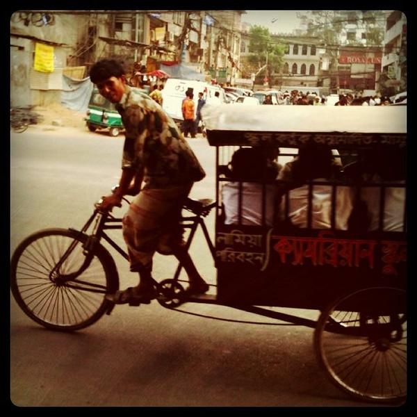 School bus in Dhaka, Bangladesh