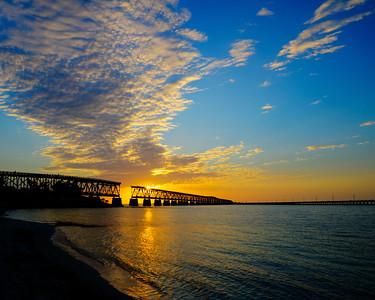 Bahia Honda Key Sunset