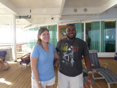 Day 16 - At sea