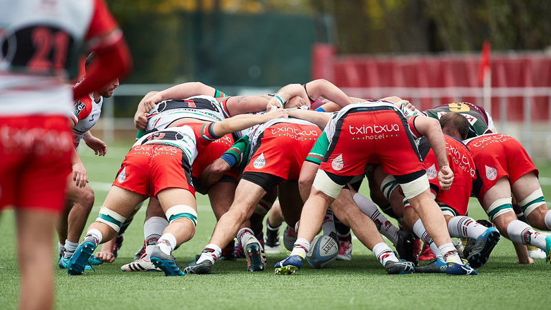 11 Nov 2018 Sanitas Alcobendas Rugby v Hernani C.R.E.